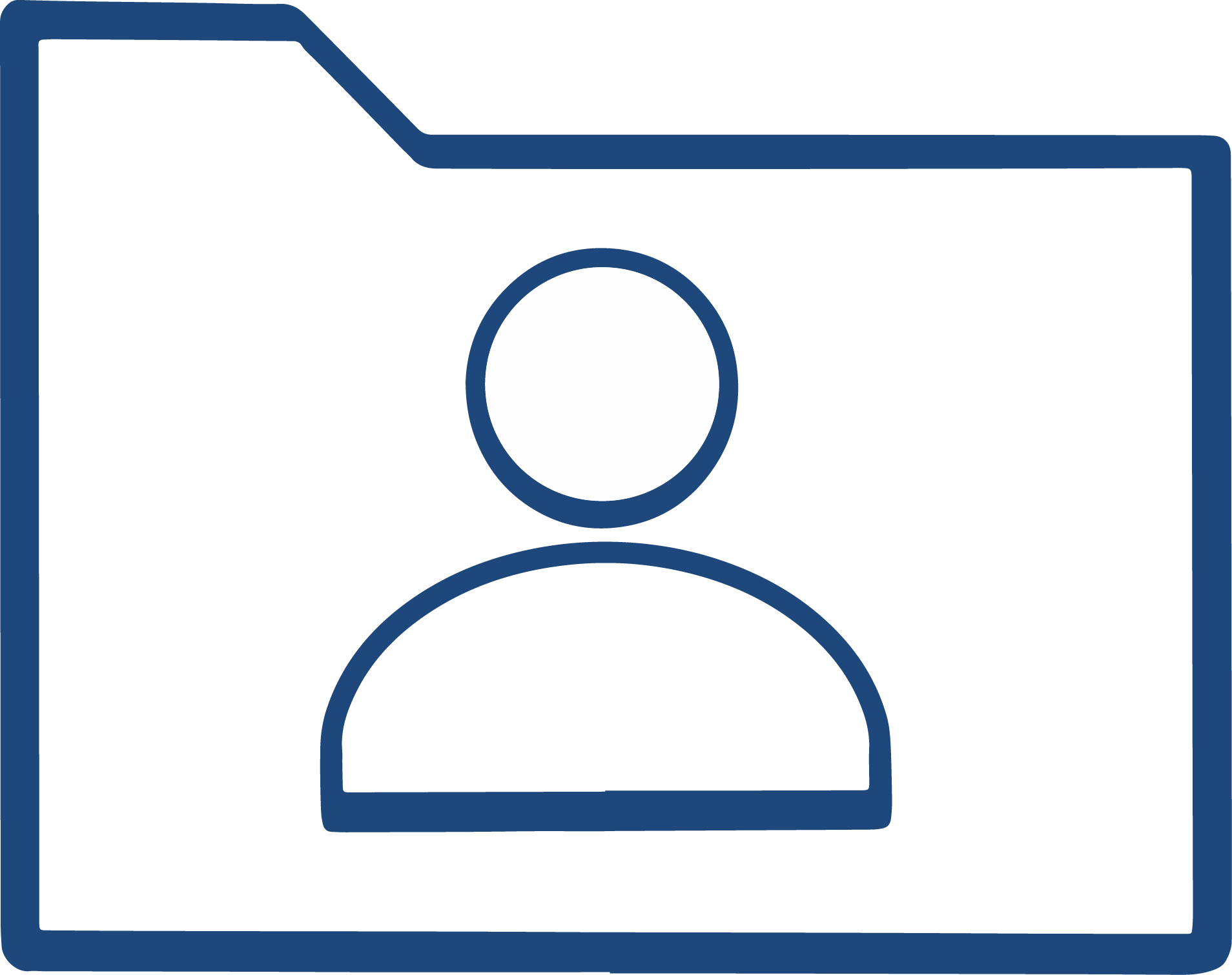 Anonymized data icon
