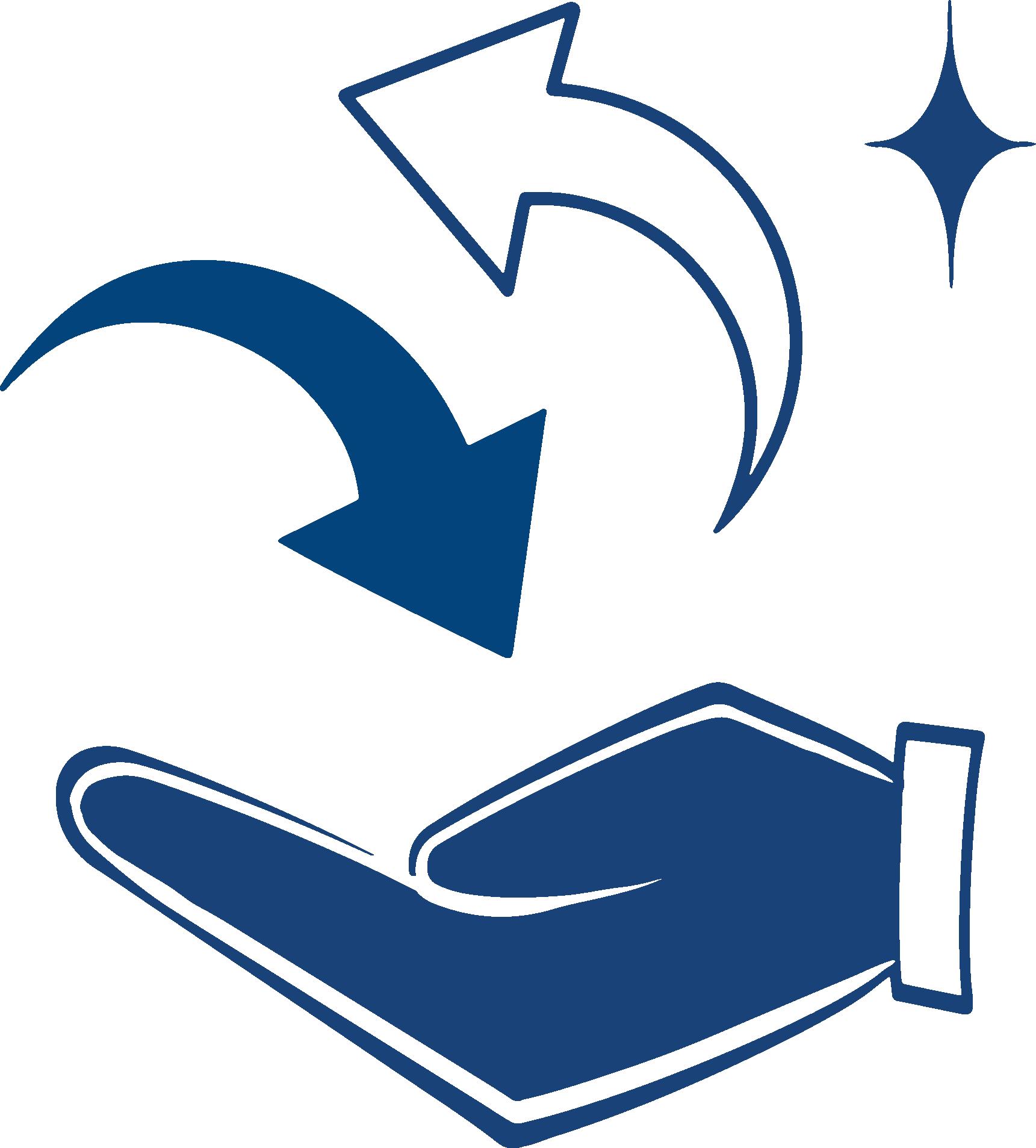 Purpose of service enhancement icon
